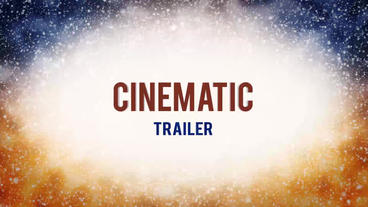 Cinematic Trailer After Effects Templates