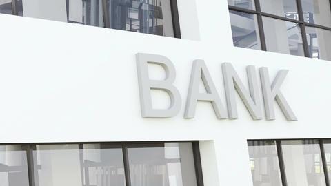 Bank building Footage