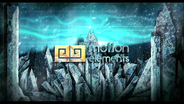 Ice Mountain Epic Logo After Effects Templates