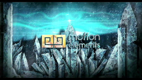 Ice Mountain Epic Logo After Effects Template