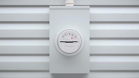 Analog Electric Power Meter Live Action