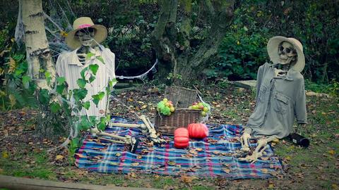 Skeletons Picnic Image