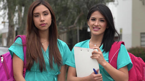 Female Student Nurses Live Action