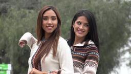 Peruvian Women Wearing Knit Sweaters, Live Action