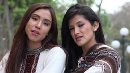 Hispanic Minority Women Footage