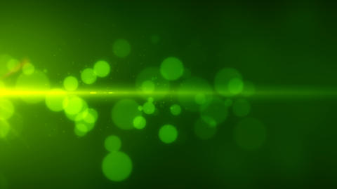 particle abstract flow background loop able green Stock Video Footage