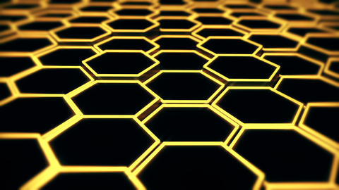 hexagon background abstract Animation