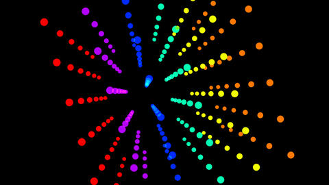 abstract Form colorful background 動画素材, ムービー映像素材