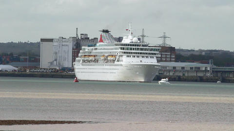 Cruise liner Balmoral Footage