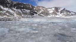 Floating Ice On Arctic Sea stock footage