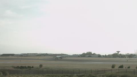 Lisbon Airport 4k - Landing stock footage