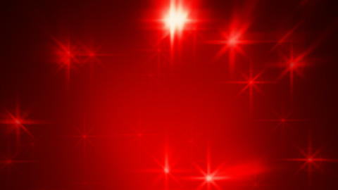 Abstract red blurred stars motion background Animation