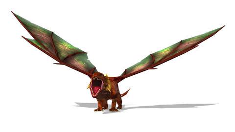 UHD-Dragon CG動画素材