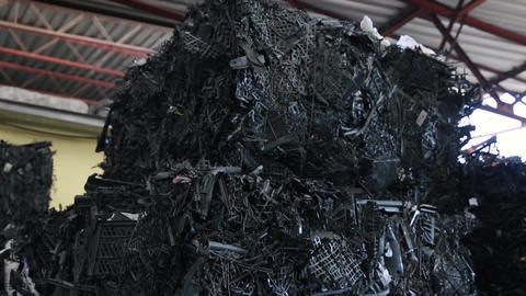 Garbage and Waste Processing Plant Footage