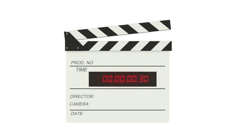 Time code slate - Clapper Footage