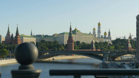 MOSCOW, RUSSIA , August 28, 2017: Moscow Kremlin, a historic building in central Image