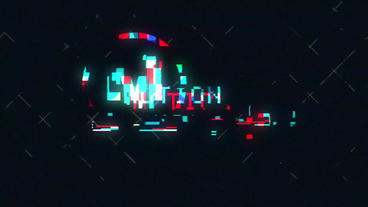 Glitch Logo Reveal Plantilla de After Effects