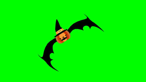 Flying pumpkin Animación