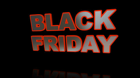 Black Friday Sale animation CG動画素材