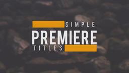 10 Premiere Titles Premiere Pro Template