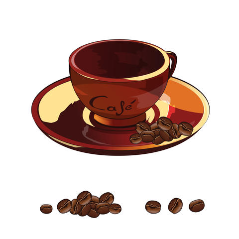 Cup Of Coffee Illustration Foto