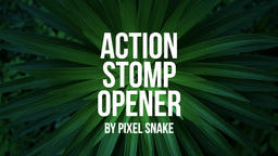 Action Stomp Opener Premiere Pro Template