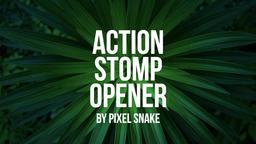 Action Stomp Opener Premiere Proテンプレート