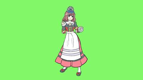 Costume Germany 4 Animation