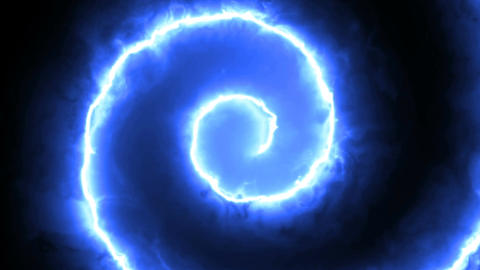 Abstract background with spiral energy lines. 3d rendering ビデオ