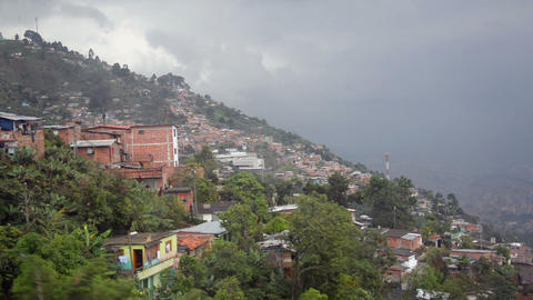 Slums of Medellin Footage