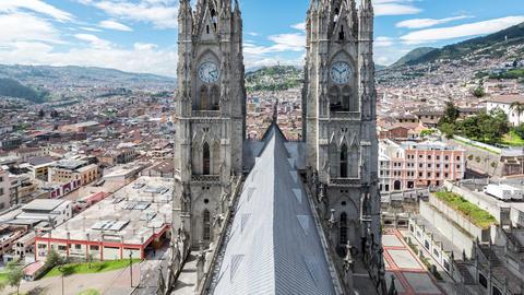Quito Basilica Video Footage