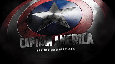 Captain America Shield After Effects Project