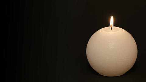 burning candle time lapse with text space 11783 Footage
