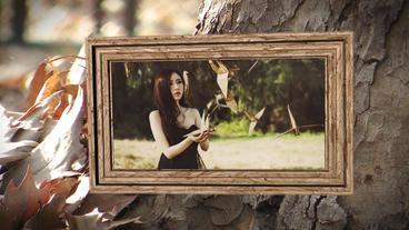 Autumn Slideshow Memories AE 模板