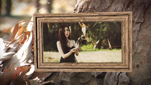 Autumn Slideshow Memories After Effectsテンプレート