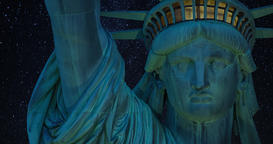 A 4K zooming close-up of the Statue of Liberty, Includes amazing footage of the Footage