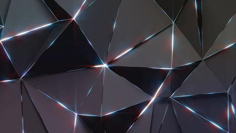 Low-Poly Dark Background Animation