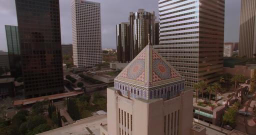 Around Downtown Building stock footage