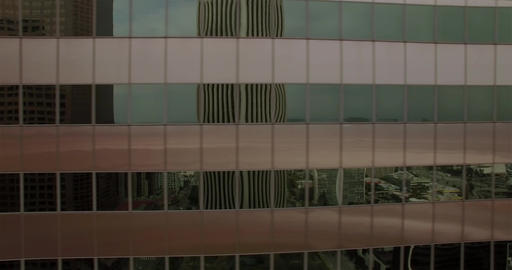 Horizontal Downtown Building Footage