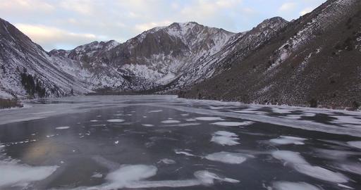Frozen Lake Reveal 02 Footage