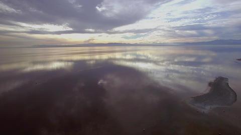 Muddy Beach Flight Footage