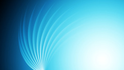 Bright blue shiny swirl abstract video animation Animation