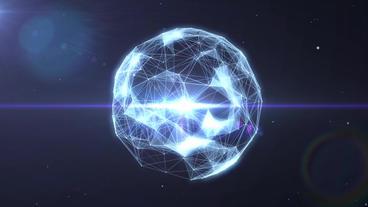 Plexus Logo Reveal After Effects Project