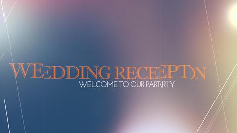 wedding title 01, Stock Animation