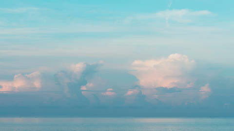 Morning seascape at Phuket Footage