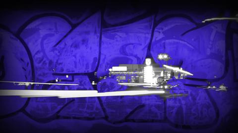 Night Traffic and Graffiti Mix 2 ビデオ