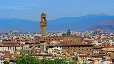 Palazzo Vecchio, Florence Footage