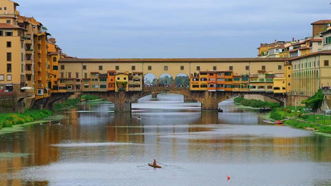 Ponte Vecchio, Florence Footage