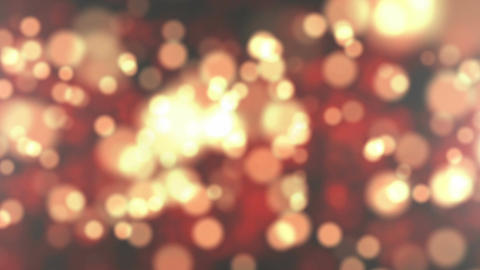 Abstract bokeh golden particles Footage