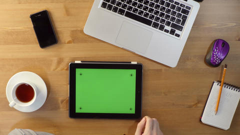 Using Tablet PC with a Green Screen at the Desktop Live Action